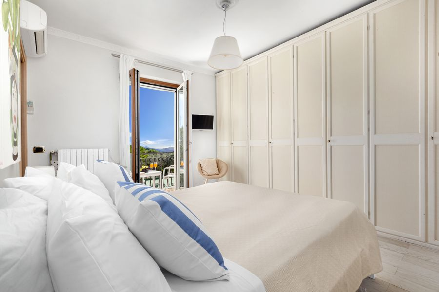 Main Bed Room with view